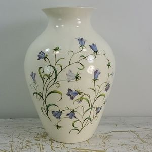 SPODE ENGLAND HAND PAINTED CERAMIC VASE